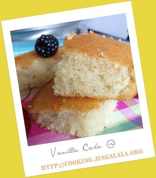 Vanilla Cake Recipe | Soft and Spongy Vanilla Cake