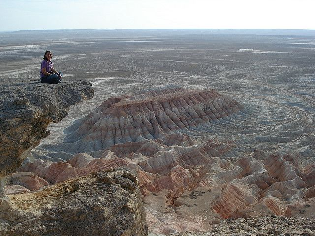 Yangykala Canyon in Central Asia, Turkmenistan.