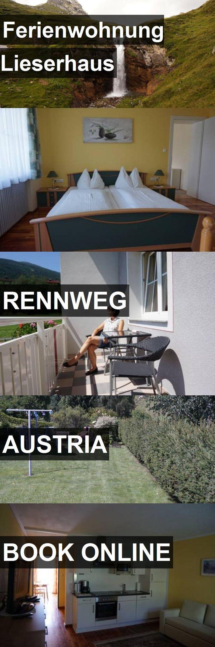 Hotel Ferienwohnung Lieserhaus in Rennweg, Austria. For more information, photos, reviews and best prices please follow the link. #Austria #Rennweg #travel #vacation #hotel