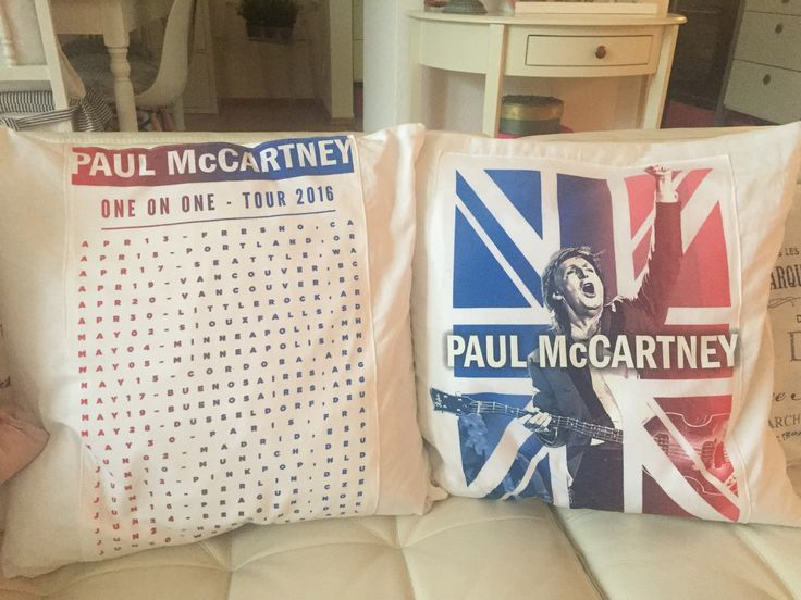 Made by my mum ❤ It was a Paul McCartney Band Shirt Tour 2016 one on one before (in the wrong size) 😍