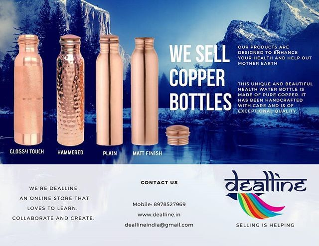 Copper health care products