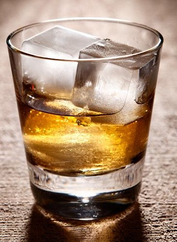 Rumoured to be the drink of choice of Sinatra and the Rat Pack, the Rusty Nail is a combination of Scotch and the Scotch-based liqueur Drambui, served over ice.   — stylebyfiction.com.au...... 1 oz   Drambuie    1 oz   Dewars White Label Scotch Whisky         Add both ingredients to a rocks glass filled with ice and stir