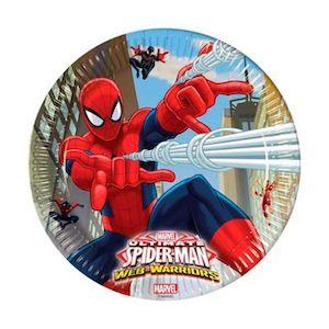 24 Kişilik Spiderman-Örümcek Adam Doğum Günü Parti Seti - Doğum Günü Süsleri   Nice Yaşlara