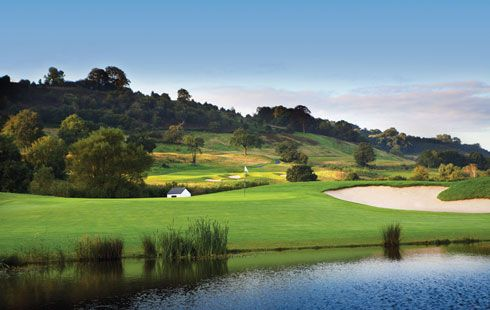 Celtic Manor Golf Course (Wales, UK) - the chosen location of the 2010 Ryder Cup, one of the closest and most exciting Ryder Cup matches ever witnessed.  Find some American colleagues and go relive the story yourself.