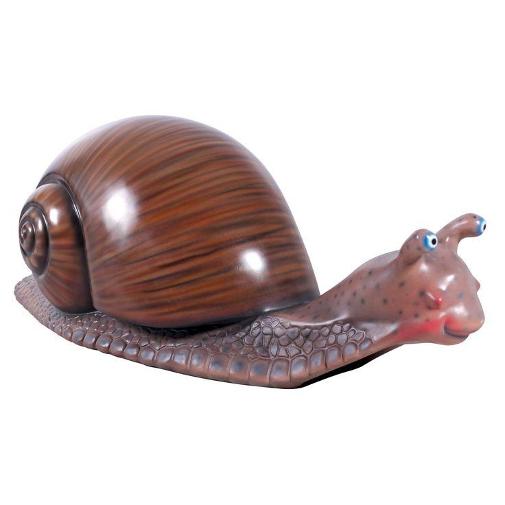 Slugo, the Giant Snail Statue