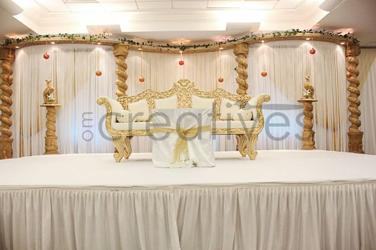 specialists in asian wedding stages decoration in