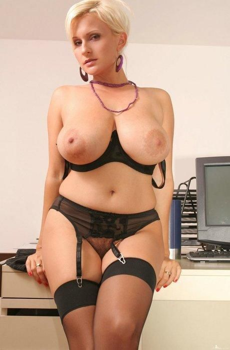 Ebony milf with huge breasts