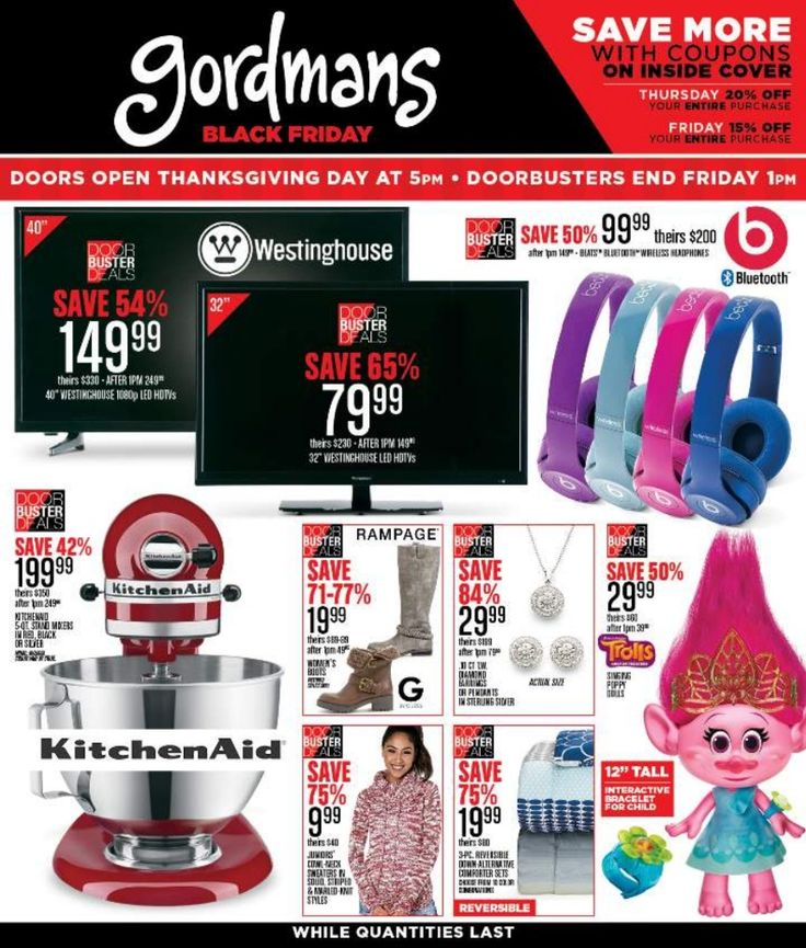 Gordmans Black Friday page 1