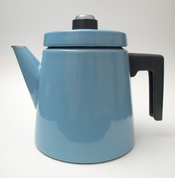 Finel Arabia Finland enamel coffee pot