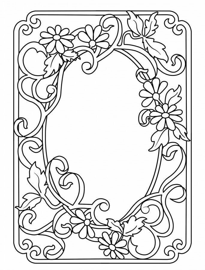 Открытки, рисунок шаблон для открытки