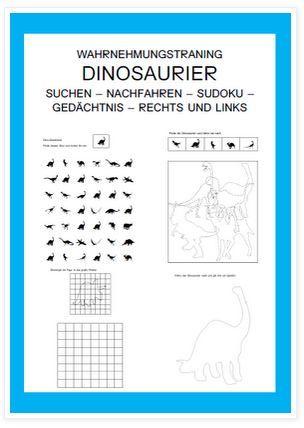 Dinosaurier – Übungsmaterial