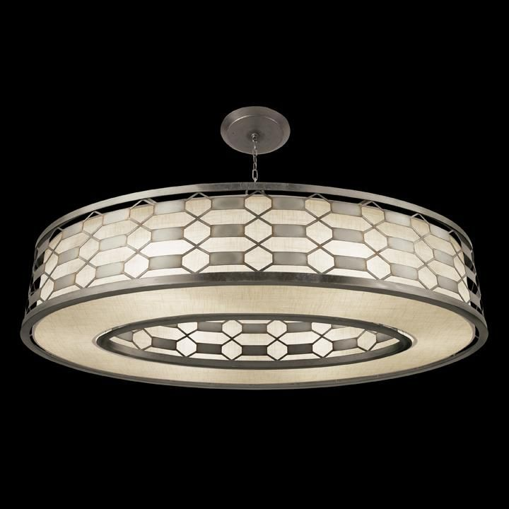 Drum shade semi flush mount d0ql annapolis lighting