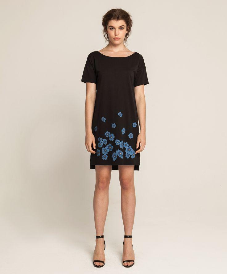 Jersey T Dress - Kopakopa - Black