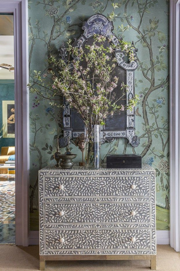 A Tour of the 2016 Kips Bay Show House  Part III. 17 Best ideas about Wallpaper Interior Design on Pinterest