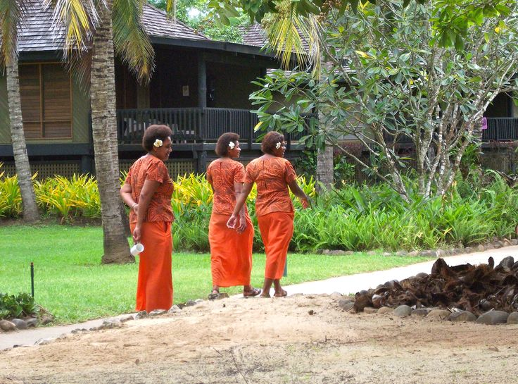 #Travel: Housekeeping staff, #Sonaisali Island Resort, #Fiji.  Photo Credit: Dawne Rudman