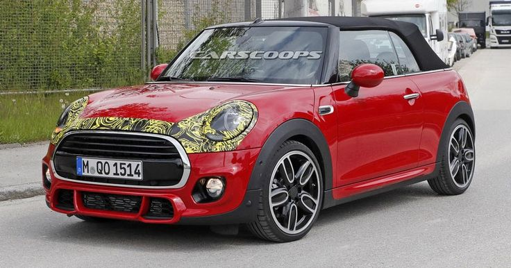 MINI Getting Ready To Hatch A 2018 Facelift