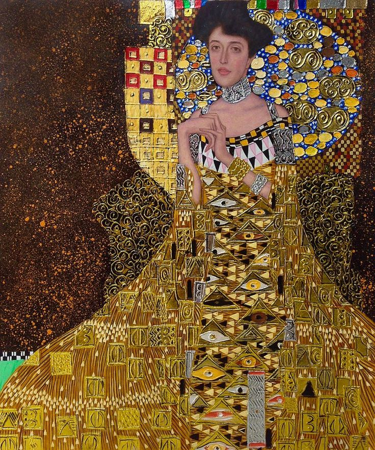 17 best images about art that inpires on pinterest for Adele bloch bauer i