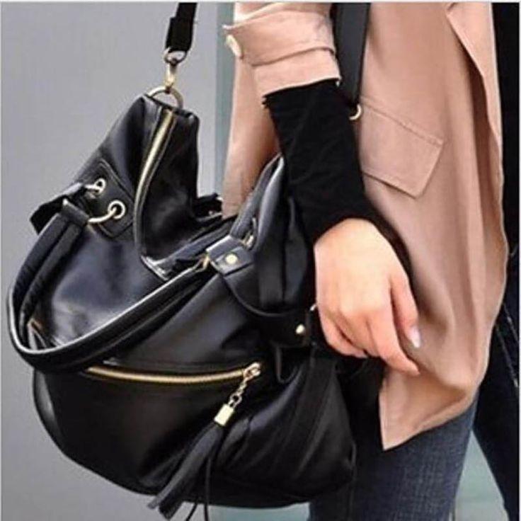 $24.27 (Buy here: https://alitems.com/g/1e8d114494ebda23ff8b16525dc3e8/?i=5&ulp=https%3A%2F%2Fwww.aliexpress.com%2Fitem%2FLarge-Women-Bag-Big-Black-Tassel-Chain-Shoulder-Bag-Tote-High-Qualtiy-PU-Leather-Handbags-Famous%2F32713906849.html ) Large Women Bag Big Black Tassel Chain Shoulder Bag Tote High Qualtiy PU Leather Handbags Famous Brands Designer Bolsa Feminina for just $24.27