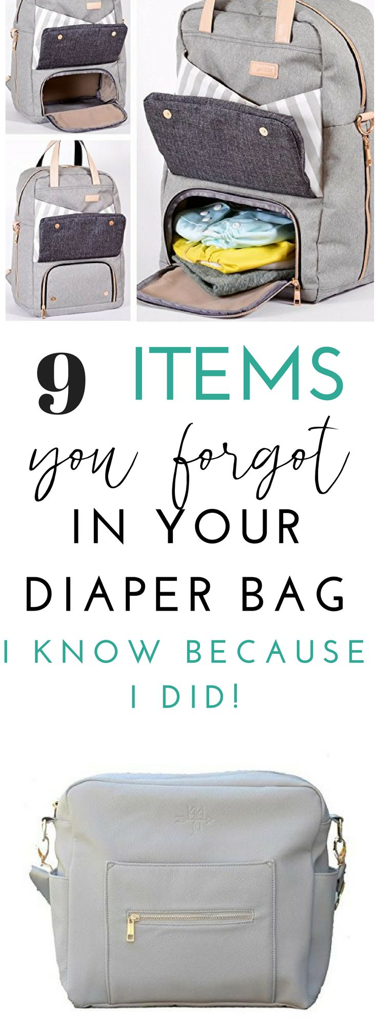 These are diaper bag essentials I have actually needed, but forgot. It isn't your average list of diapers and wipes. These are things you most likely won't think of, because I didn't!