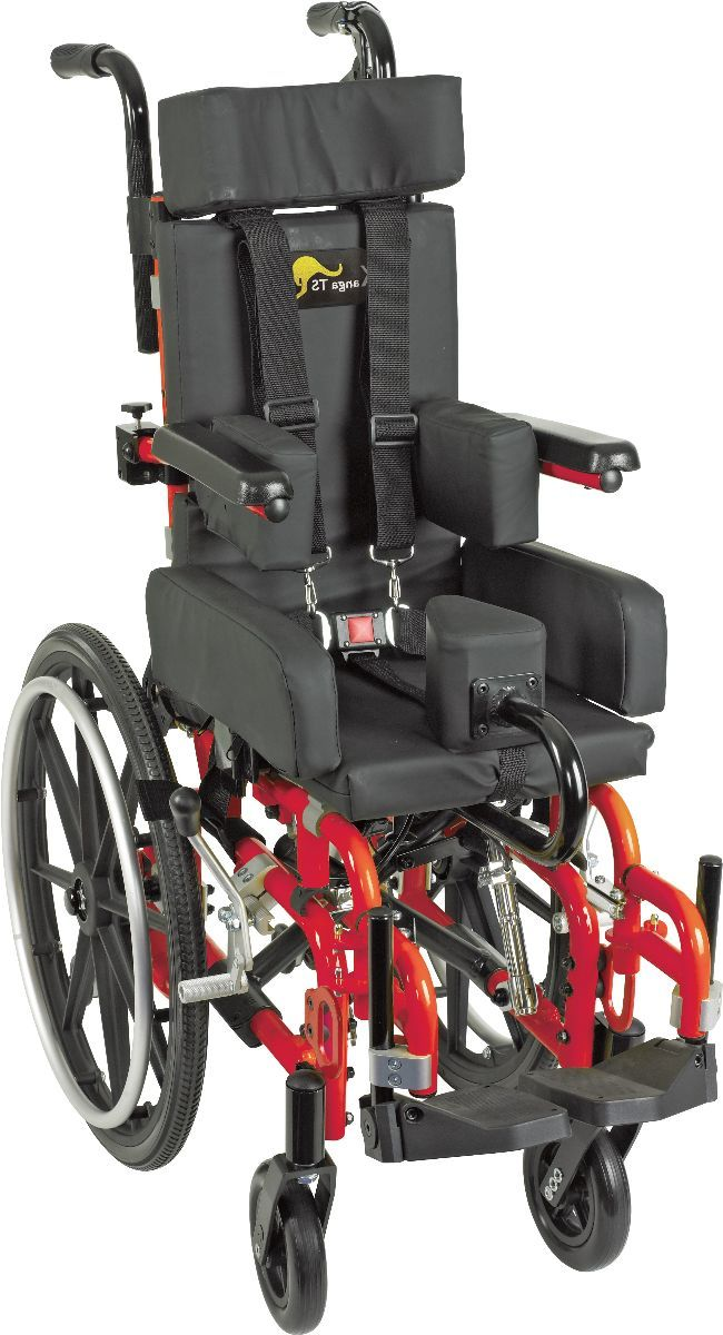 Kanga Ts Pediatric Folding Tilt In Space Wheelchair