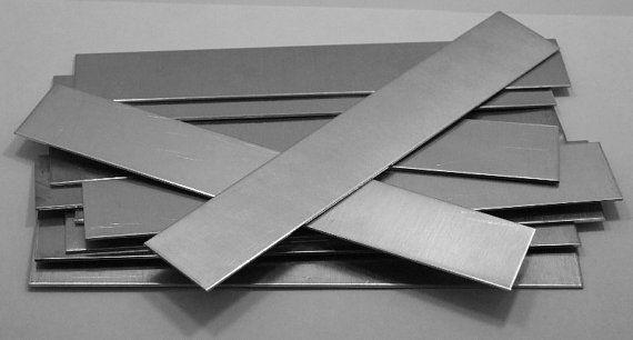 Nickel Silver Sheet Bracelet Blanks 16ga 6 X 1 1 3mm Pkg Of 12 New Lower Price Cuff Bracelets Mens Silver Necklace Nickel Silver