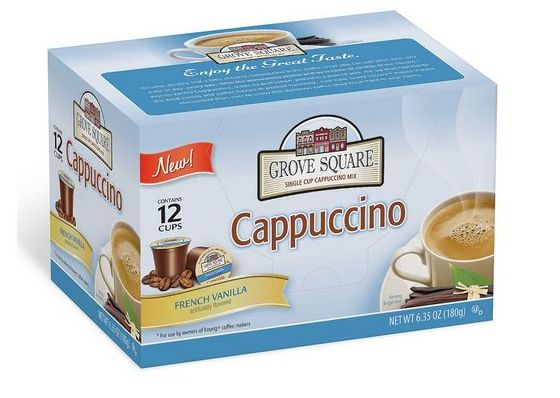 https://www.bonanza.com/listings/72-K-Cups-Grove-Square-French-Vanilla-Cappuccino-12-count-box/467341197