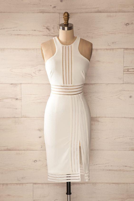 Halter Prom Dress,Bodycon Prom Dress,Mini Prom Dress,Fashion Prom