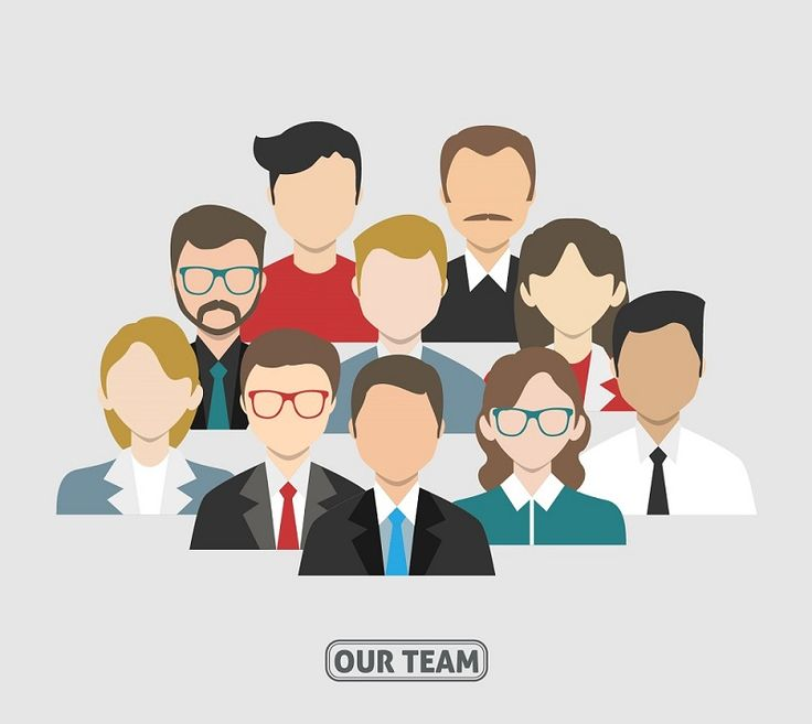 cartoon employees
