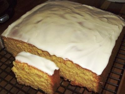 Custard Cake recipe. Easy one bowl