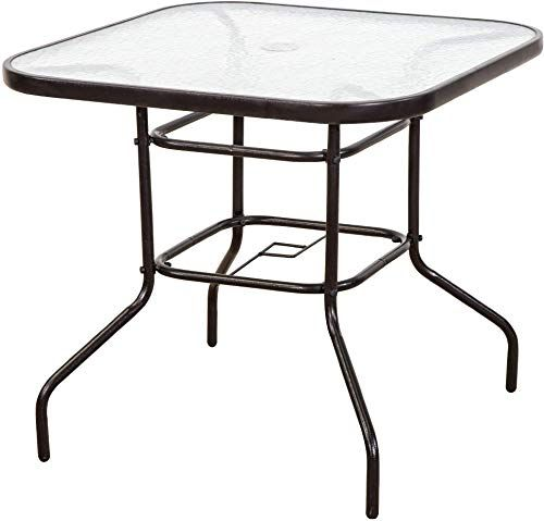 32 Patio Dining Tables Umbrella Hole, Outdoor Patio Dining Table With Umbrella Hole