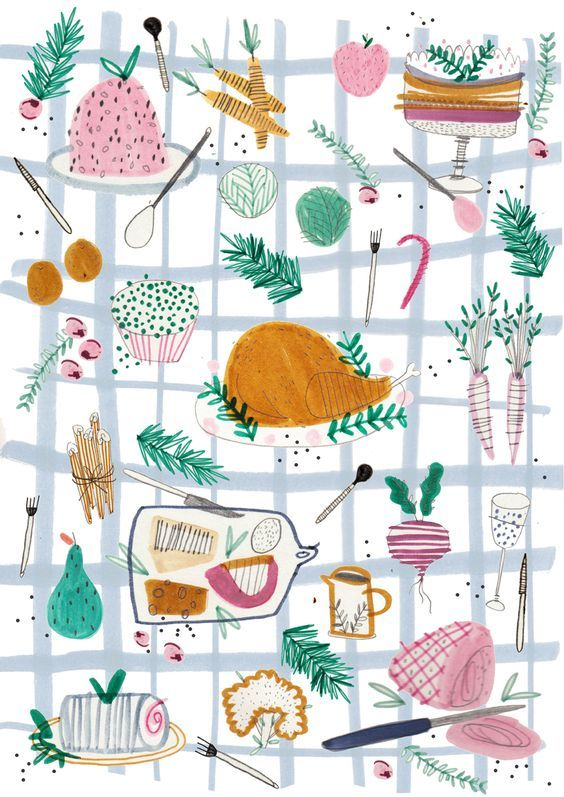 Illustration Amyisla McCombie. Seen on HappyMakersBlog.com