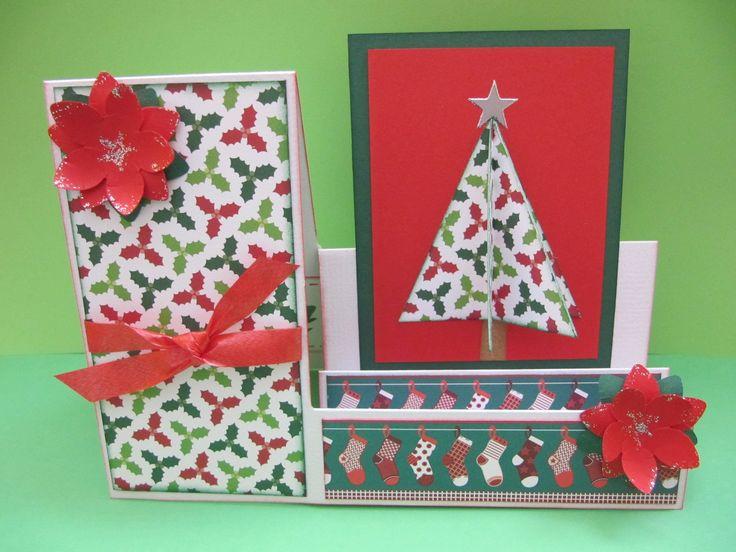 "Tarjeta step ""Árbol Navidad"""