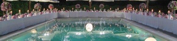 tavolo imperiale bordo piscina