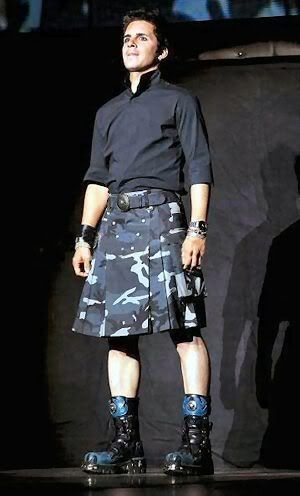 Young fellas in kilts. Example pic - Hal Sparks