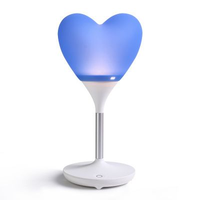 """Robot Heart Lamp in Blue - K-drama addicts unite!!!   Inspired by the popular Korean drama that has been top of our list of must-watch K-dramas, """"I'm *** * Robot"""", we have brought in this cute heart LED lamp that has been featured in most of the scenes!"""