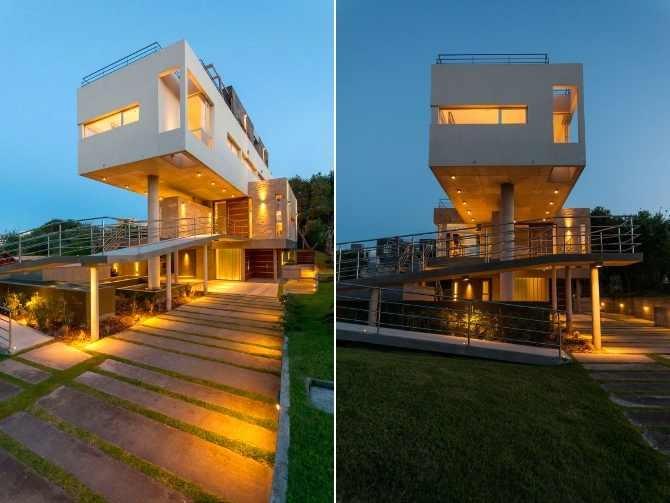 """La modernità delle linee rette! """"Casa Wanka: una meraviglia del design contemporaneo in Argentina"""""""