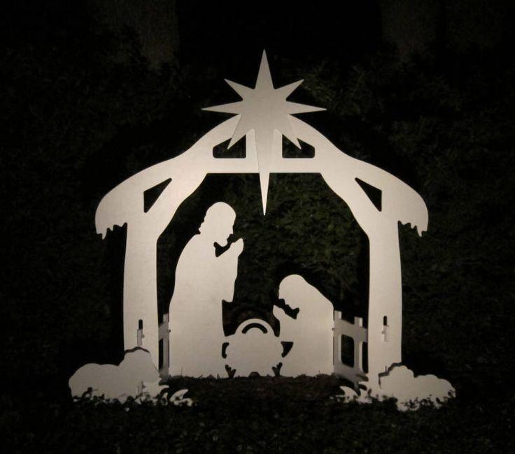 Christmas Outdoor Nativity Scene - Yard Nativity Set  | Collectibles, Holiday & Seasonal, Christmas: Current (1991-Now) | eBay!