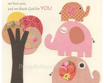 Baby girl nursery decor baby girl wall art love by DesignByMaya