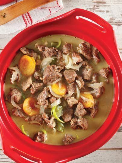 Güveçte kayısılı kuzu eti Tarifi - Türk Mutfağı Yemekleri - Yemek Tarifleri