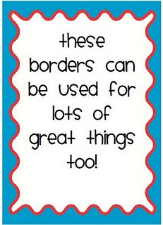 Free badges and borders!!! Lots of ways to use these!Kindergarten