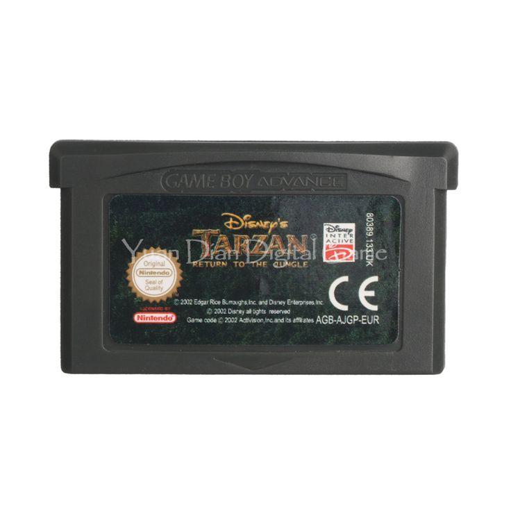 >> Click to Buy << Nintendo GBA Video Game Cartridge Console Card Disney's Tarzan Return to the Jungle EU English Language Version #Affiliate