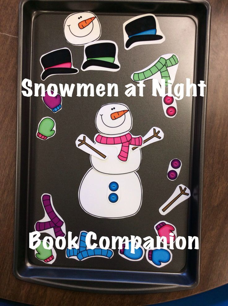 $ Snowmen at Night: 21 Snowman and Winter themed speech therapy activities designed to be used after reading the story, Snowmen at Night by Caralyn Buehner. Activities for language and articulation, plus the adorable Build a Snowman Game. From Speech Sprouts