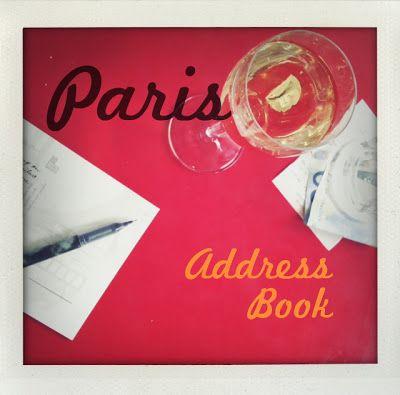 Paris Address Book | Prêt à Voyager