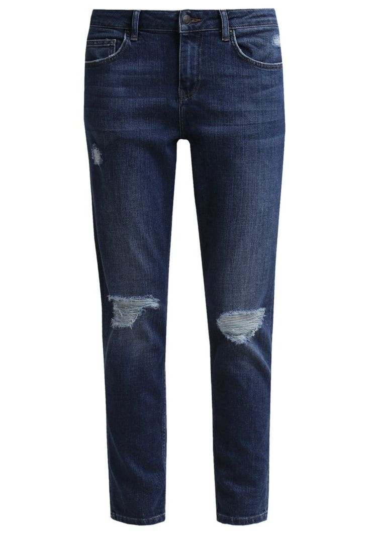 Topshop LUCAS  Jeansy Relaxed fit middenim image