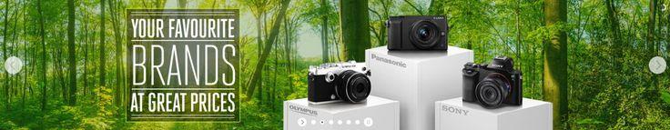 Clifton Cameras Advertising Web Banner #Web #Digital #Banner #Online #Marketing #Hitech #Technology #Cameras