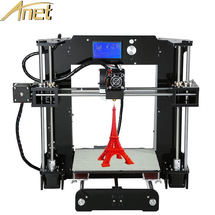 Personnels 3d imprimante machine Anet A6/A8/Auto nivellement A8 3d imprimante kit diy Reprap Prusa i3 Industrielle avec Filaments Libres LCD dans 3D Printers de Ordinateur et Bureau sur AliExpress.com | Alibaba Group