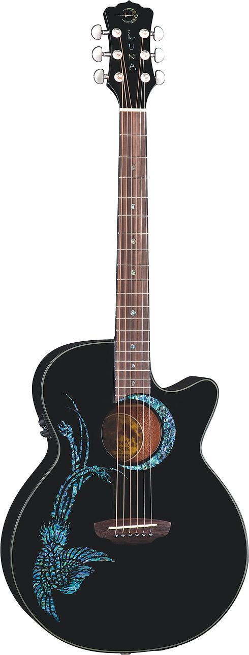 Luna Guitars- Fauna Phoenix - acoustic electric guitar