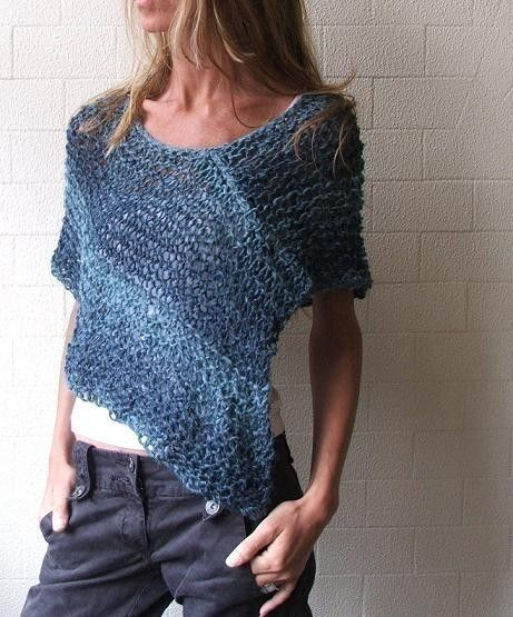 Blue peru Poncho /cape 4 left in this shade by ileaiye on Etsy, $50.00