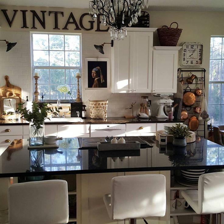Industrial Farmhouse Kitchen 185 best beesnburlap home decor images on pinterest | modern
