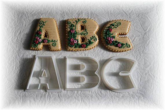 Tunde's Alphabet Cookie Cutter Set